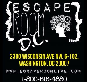 Escape Room Live DC promo codes